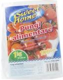 Pungi alimentare LDPE 1 kg 100 buc/set Sweet Home