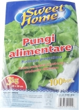 Pungi alimentare LDPE 3 kg 100 buc/set Sweet Home