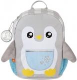 Ghiozdan fete Mini Dear Friends, Smart Penguin, Tiger