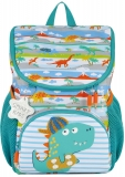Ghiozdan baieti Mini ergonomic neechipat Little Travelers Rex Buddy Tiger