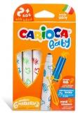 Carioci Baby 2+, 6 culori/set, Carioca