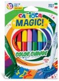 Carioci Magic erasable, 9 culori/set, Carioca