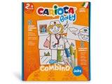 Set creativ markere, Baby 2+ Jobs, 8 culori/set, Carioca