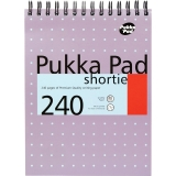 Notepad A5, 120 file, Metallic Shortie Pukka Pads