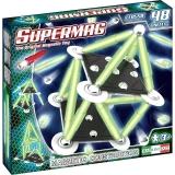 Supermag Classic Glow - Set Constructie 48 Piese Supermag