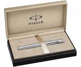 Stilou Premier Deluxe Silver ST penita F Parker