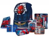 Pachet ghiozdan si rechizite Spiderman 4