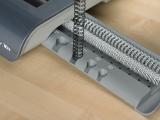 Inele indosariere metal 14.3 mm negru 100 buc/cutie