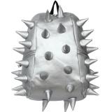 Rucsac 46 cm Full Rex Moonwalk argintiu metalizat Madpax