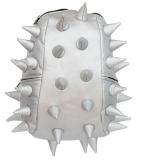 Rucsac 36 cm Half Rex Moonwalk argintiu metalizat Madpax