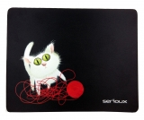 Mousepad Cat and ball of yarn Serioux