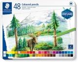 Creioane colorate Design Journey 146C, cutie metal, 48 culori/set Staedtler