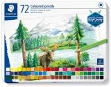 Creioane colorate Design Journey 146C, cutie metal, 72 culori/set Staedtler