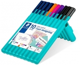 Set instrumente de scris Triplus 34 Card Designing, 10 buc/set Staedtler