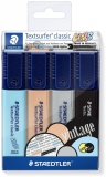 Textmarker Textsurfer Classic Vintage Colors 364 C 4 buc/set Staedtler