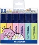 Textmarker Textsurfer Classic Pastel Colors 364 C 6 buc/set Staedtler
