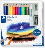 Set creioane colorate Watercolour 146 10C, 18 piese/set Staedtler
