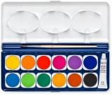 Acuarele Noris 888, cu pensula, 12 culori/set Staedtler