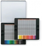 Creioane colorate acuarela Karat Aquarell 125, 36 culori/set Staedtler