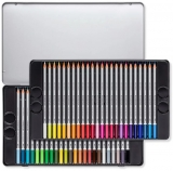 Creioane colorate acuarela Karat Aquarell 125, 48 culori/set Staedtler