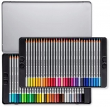 Creioane colorate acuarela Karat Aquarell 125, 60 culori/set Staedtler