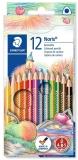 Creioane colorate Noris Club, 12 culori/set Staedtler