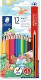 Creioane colorate Noris 12 culori + 1 creion grafit Staedtler