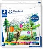 Creioane colorate Design Journey, 48 culori/set Staedtler