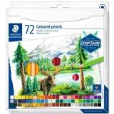 Creioane colorate Design Journey, 72 culori/set Staedtler