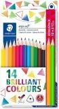Creioane colorate Ergosoft, 12+2 culori/set Staedtler