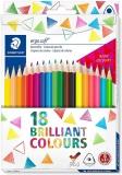Creioane colorate Ergosoft, 12+6 culori/set Staedtler