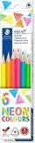 Creioane colorate Ergosoft, 6 culori/set Staedtler