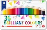 Creioane colorate Ergosoft, cutie metal, 36 culori/set Staedtler