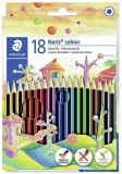 Creioane colorate Noris Colour, HB, 18 culori/set Staedtler