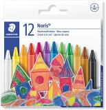 Creioane cerate colorate Noris 12 culori/set Staedtler