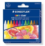 Creioane cerate colorate 12/set Noris Staedtler