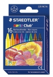 Creioane cerate colorate 16/set Noris Staedtler