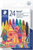 Creioane cerate colorate Noris 24 culori/set Staedtler