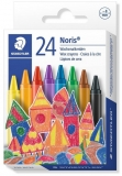 Creioane cerate colorate 24/set Noris Staedtler