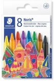 Creioane cerate colorate 8/set Noris Staedtler