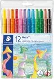 Creioane cerate colorate twister Noris 12 culori/set Staedtler