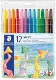 Creioane cerate 12 culori Noris Twister Staedtler