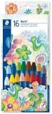 Creioane cerate colorate Noris Club 16 culori/set Staedtler