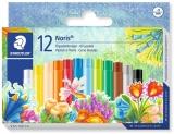 Creioane colorate ulei pastel Noris Club 12 culori/set Staedtler