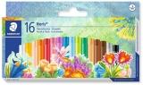 Creioane colorate ulei pastel Noris Club 16 culori/set Staedtler