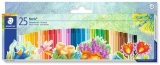 Creioane colorate ulei pastel Noris Club 25 culori/set Staedtler
