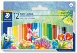 Creioane colorate ulei pastel Noris Club Jumbo 12 culori/set Staedtler