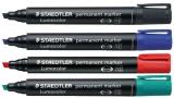 Marker permanent 2 mm Lumocolor Staedtler 350 set 4 culori