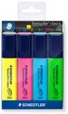 Textmarker Textsurfer Classic 364, 4 culori/set Staedtler