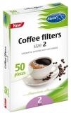 Filtre cafea hartie, nr. 2, 50 buc/cut Stella